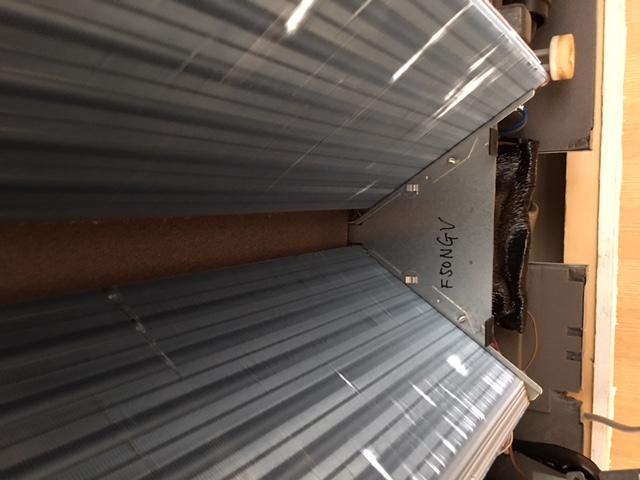 天井埋込エアコンの修理