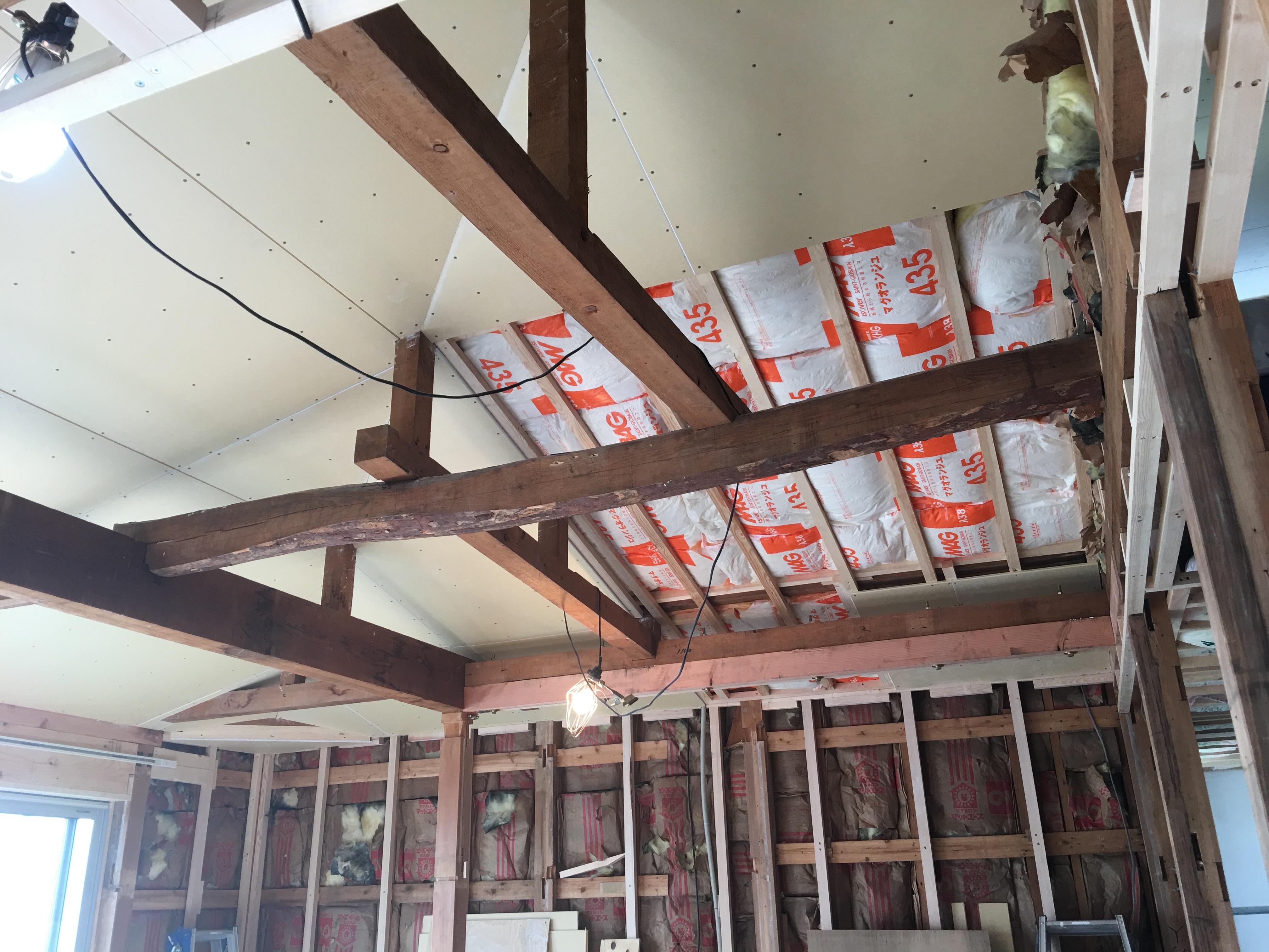 木造戸建の大改修。