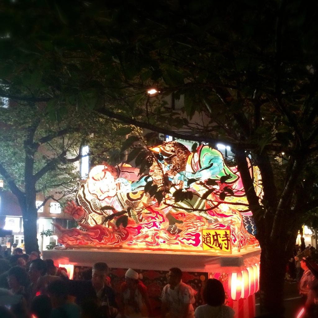 桜新町ねぶた祭1